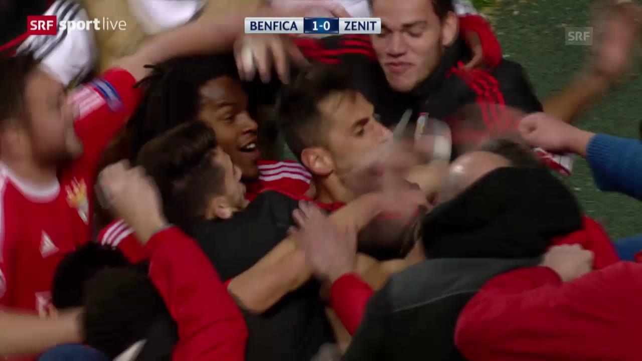 Jonas schiesst Benfica zum Sieg