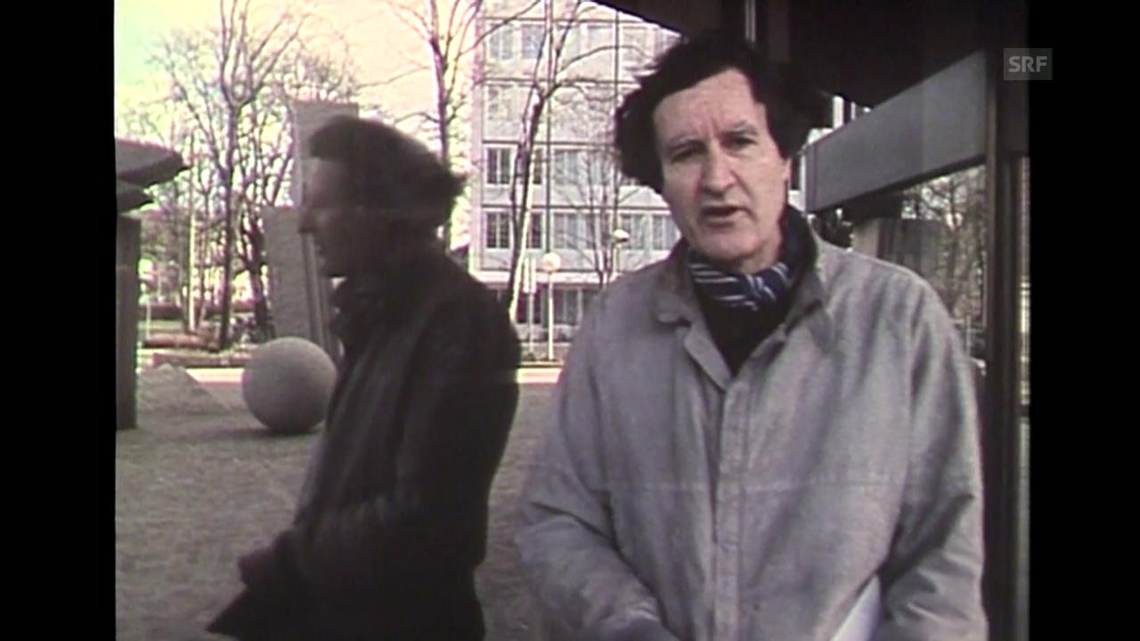Ein Spaziergang in Basel mit Lucius Burckhardt (Schauplatz 17.05.1985)