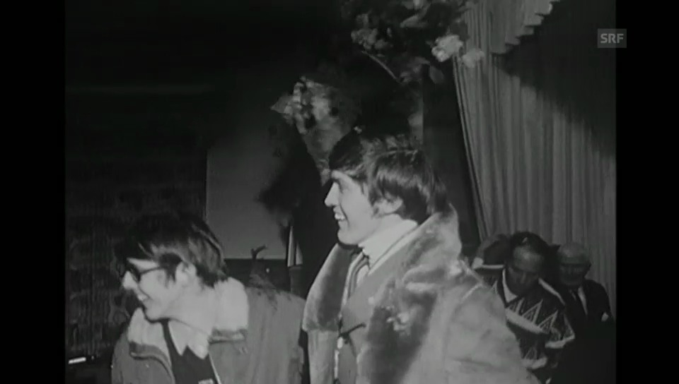 Empfang für Weltmeister Bernhard Russi («Antenne» vom 17.02.1970)