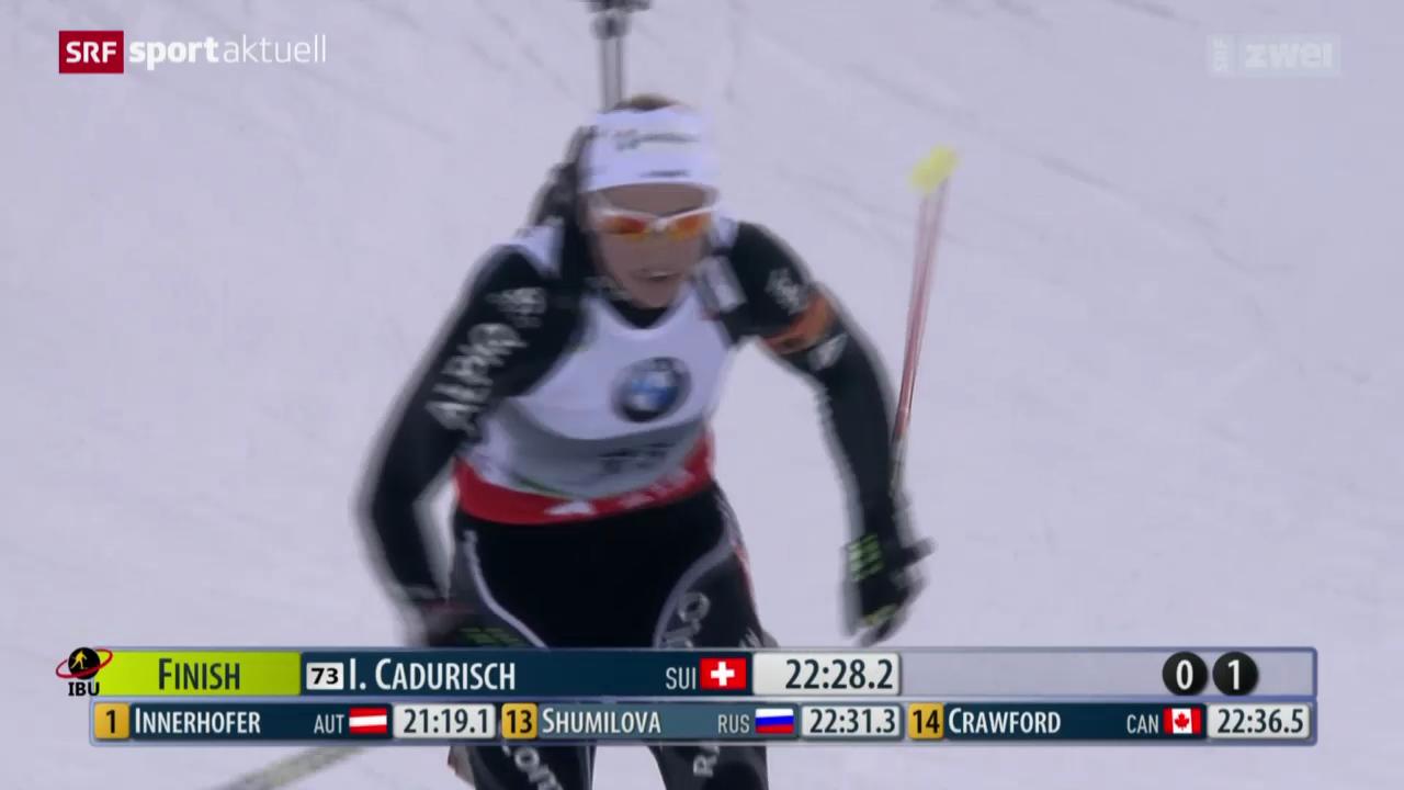 Biathlon: Sprint in Pokljuka