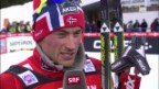 Video «Tour de Ski: Interview mit Petter Northug» abspielen
