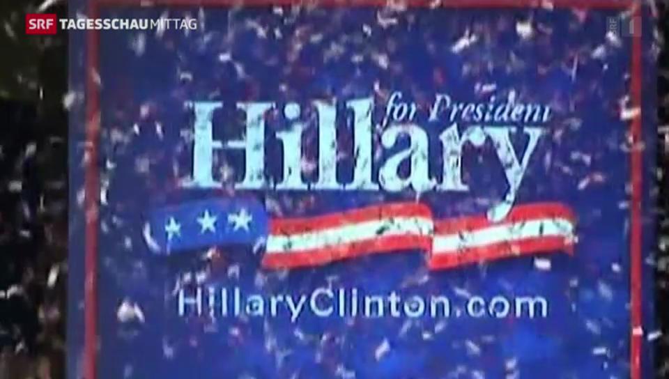 Clintons PR-Offensive