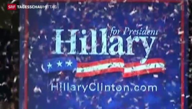 Video «Clintons PR-Offensive» abspielen