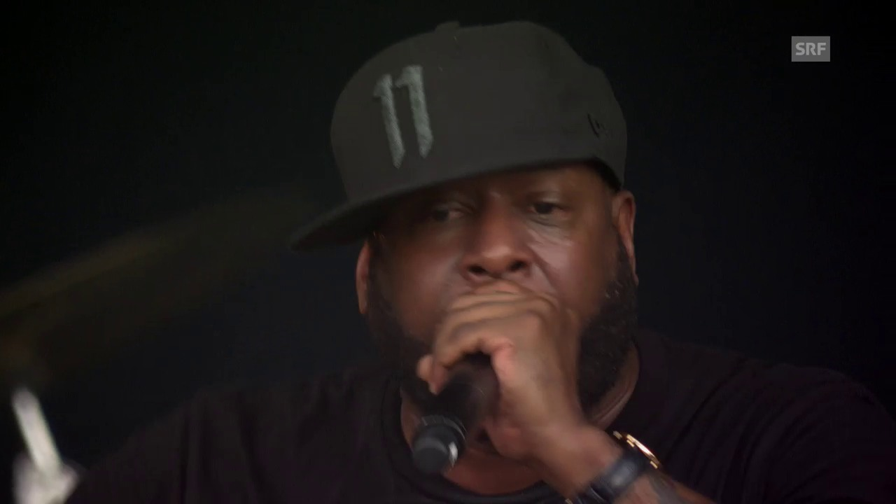 Talib Kweli & The Soul Rebels - «I Try» Openair Frauenfeld
