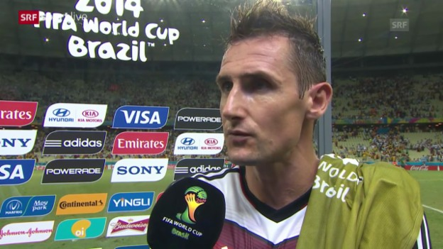 Video «FIFA WM 2014: Miroslav Klose im Interview» abspielen