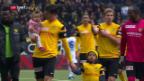 Video «YB überrennt den FCZ und vertagt Basels Meisterparty» abspielen