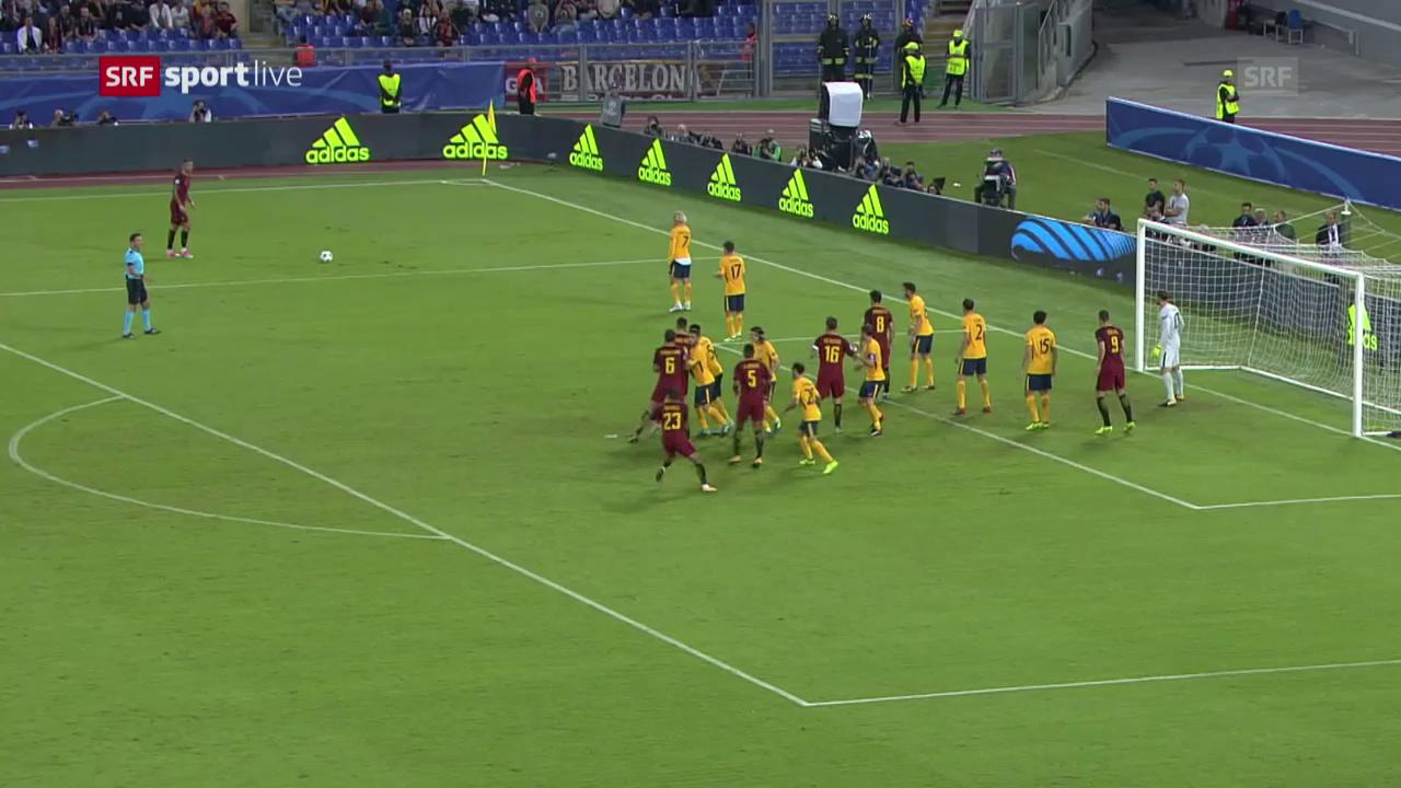 Dank starken Keepern: Keine Tore bei Roma-Atletico
