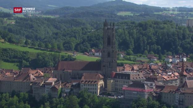 Video «FR: Freiburg lanciert Grossfusion» abspielen