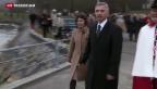 Video «Feier für den neuen Bundespräsidenten Didier Burkhalter» abspielen