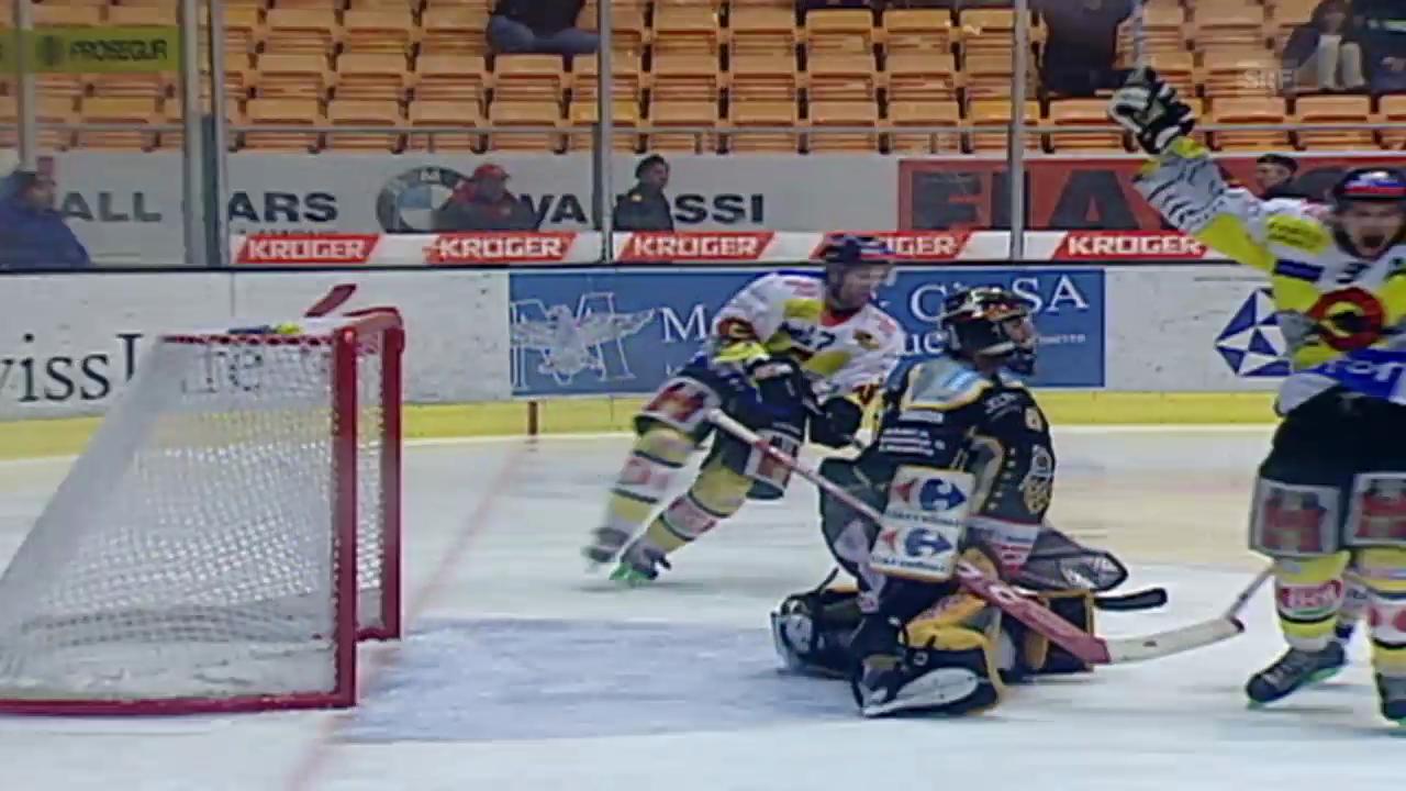 Eishockey: 5. Viertelfinalspiel Lugano - SC Bern - Kloten («sportlive» 07.03.2005)