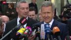 Video «Christian Wulff erhält seine Ehre zurück» abspielen
