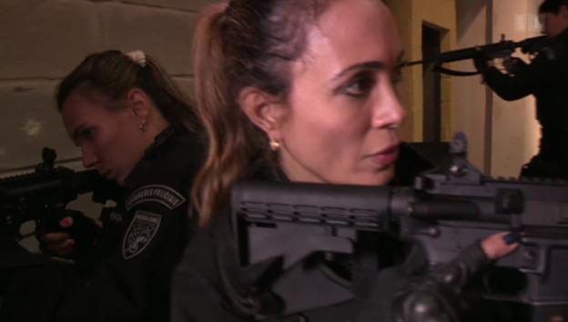 Video «WM-Polizistinnen in Rio» abspielen