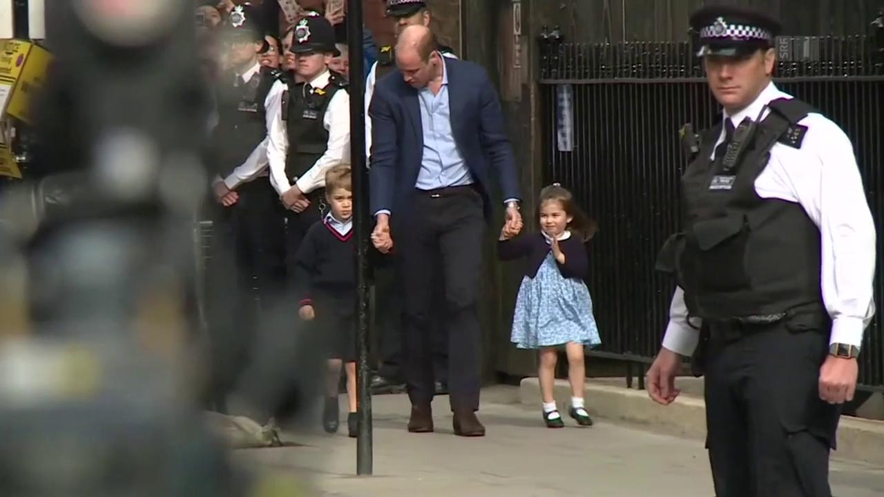 Herzogin Kate: Das Baby ist da