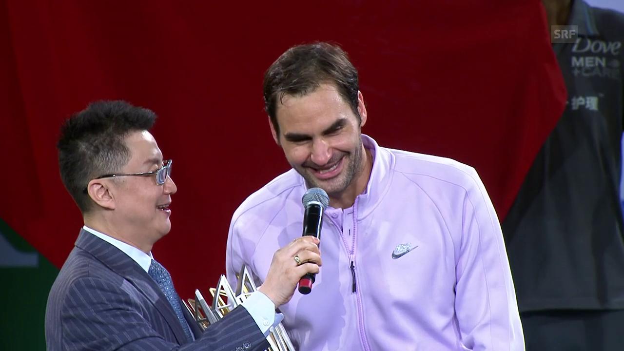 Chinesisch für Anfänger mit Federer