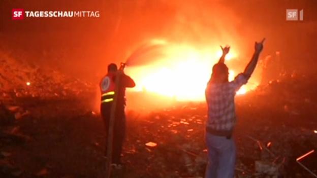 Video «Kritische Situation im Gazastreifen» abspielen