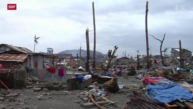 Video «Millionen Philippiner sind obdachlos» abspielen