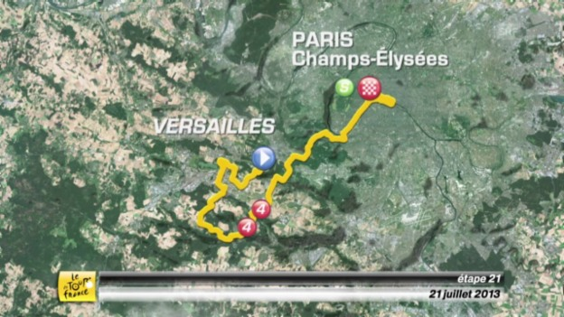 Video «Tour de France: Die 21. Etappe nach Paris» abspielen