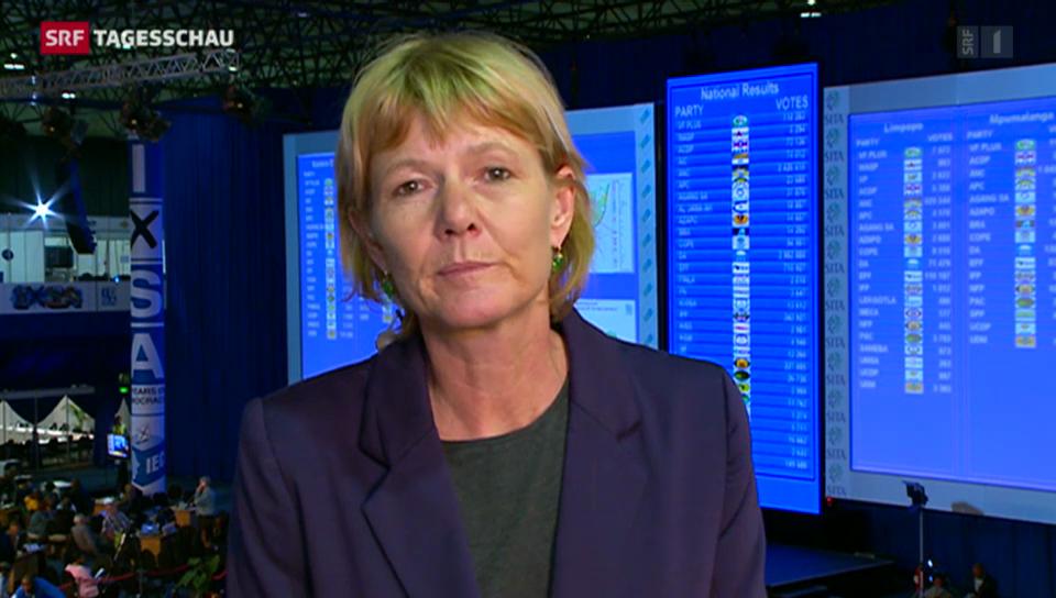 Einschätzungen von SRF-Korrespondentin Cristina Karrer.
