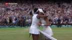 Video «Tennis: Spanierin siegt in Wimbledon» abspielen