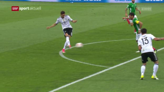 Video «Deutschland folgt Chile in den Confed-Cup-Final» abspielen