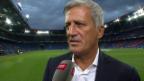 Video «Fussball: Vladimir Petkovic zur Rochade Inler/Dzemaili» abspielen