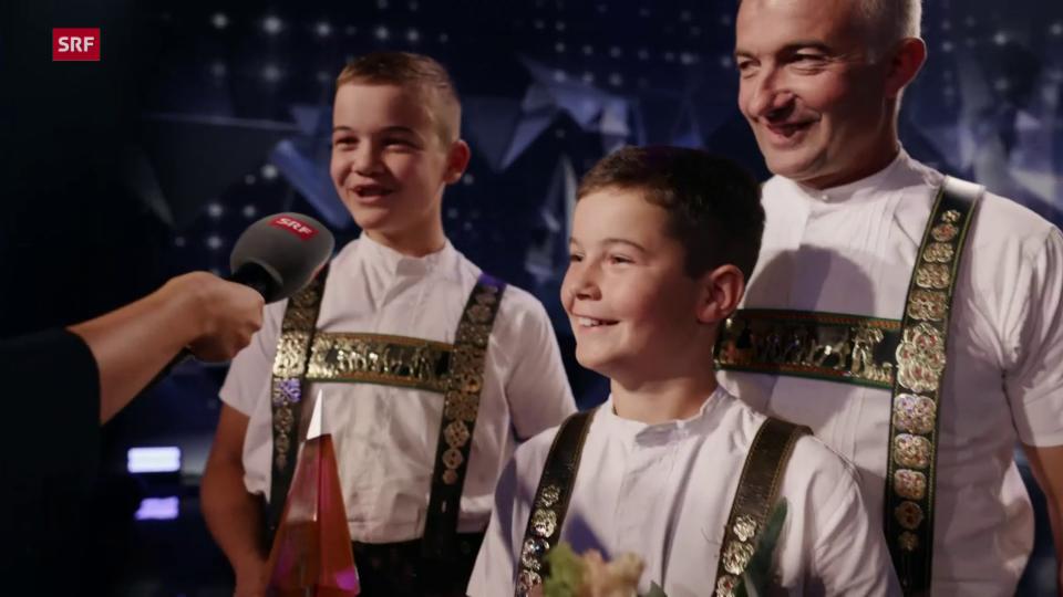Tüüfner Gruess gewinnt die Show   SRF Stadt Land Talent 2021