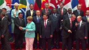 Video «G20-Gipfel in China» abspielen
