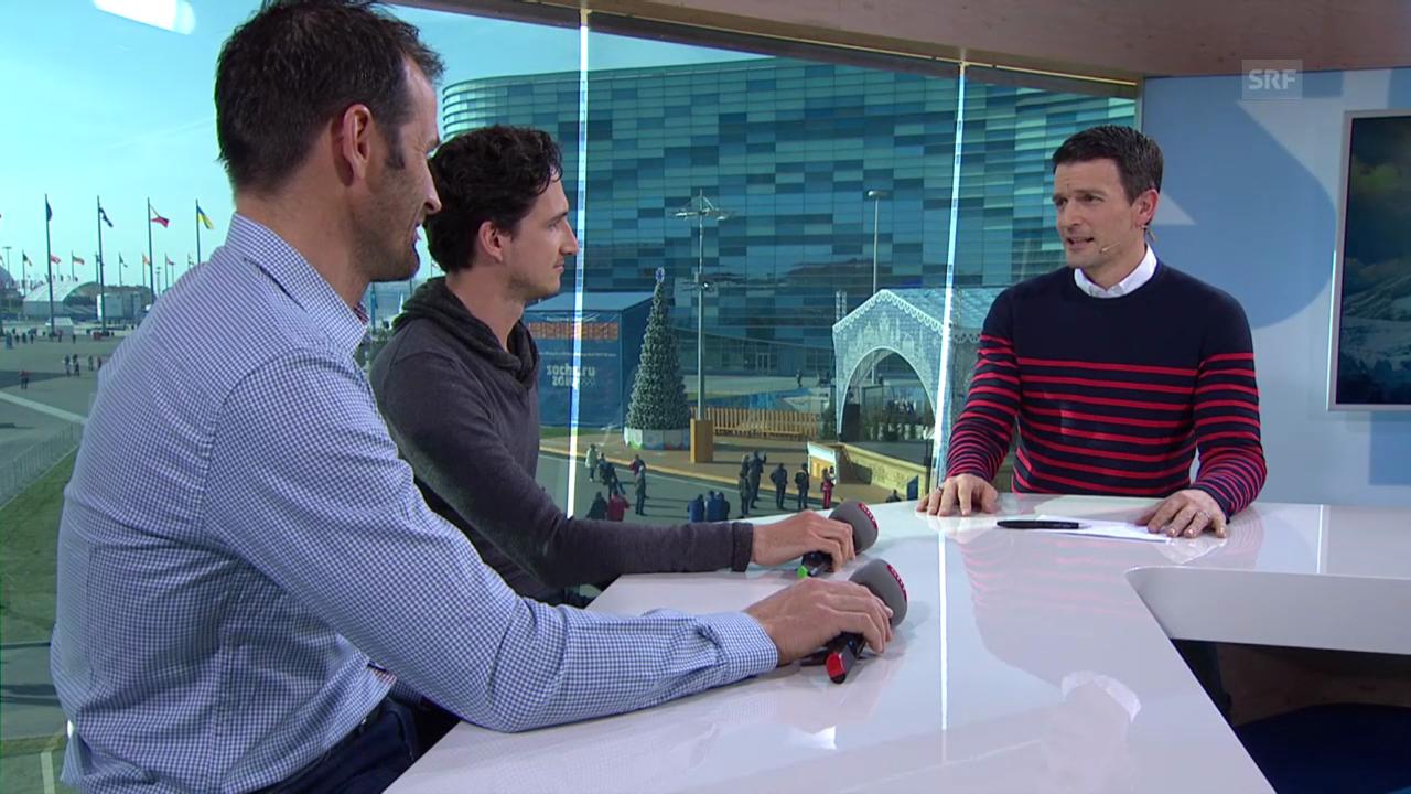 Sotschi: Gespräch mit Iseppi und Schmid zu Cologna