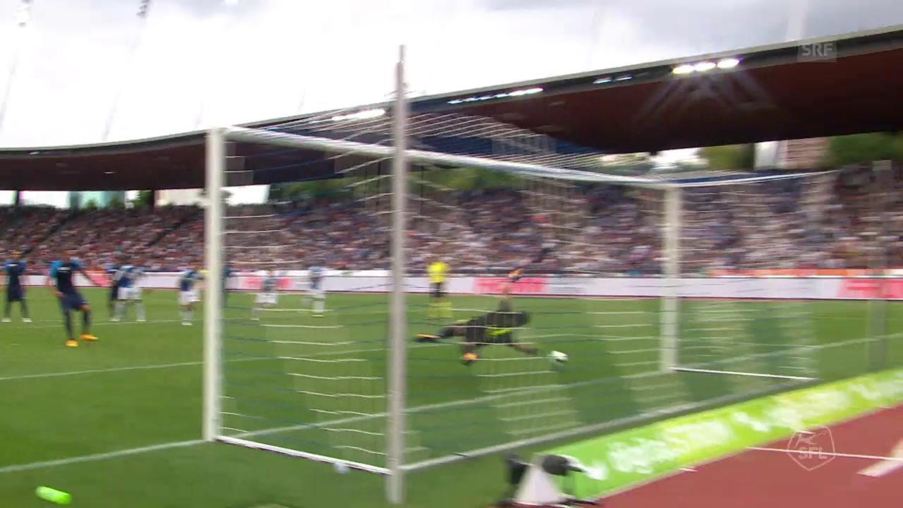 Stark reagiert: Lindner pariert Frey-Penalty