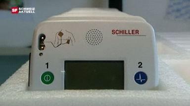 Video «Grosse Nachfrage nach Defibrillatoren» abspielen