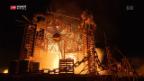 Video «Gedenken an Tunnelbrand» abspielen