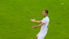 Link öffnet eine Lightbox. Video Last-Second-Sieg von St. Gallen beim FCB abspielen