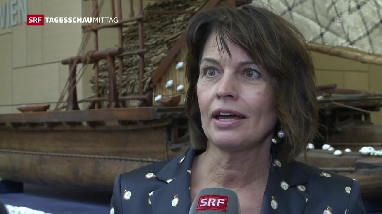Bundespräsidentin Leuthard zur Schweiz