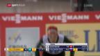 Video «Dahlmeier schafft mit 5. Gold Rekord» abspielen
