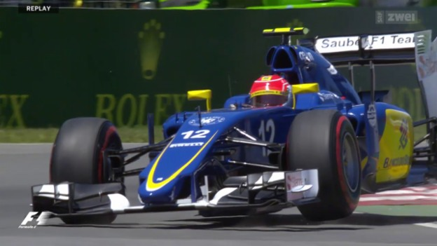 Video «Formel 1: Qualifying Montreal» abspielen