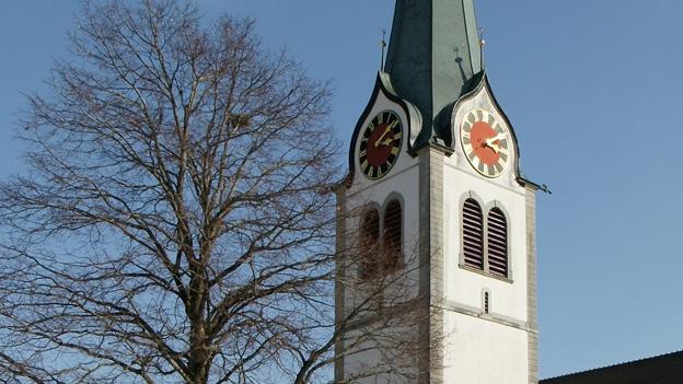 Glockengeläut der reformierten Kirche in Gais