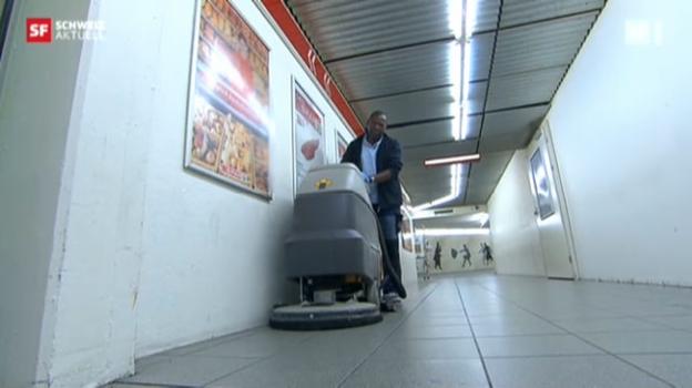 Video «Vom Hauswart in St.Gallen zum Bezirkschef in Kenya» abspielen