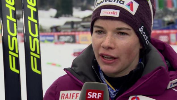 Video «Interview mit Nathalie von Siebenthal» abspielen
