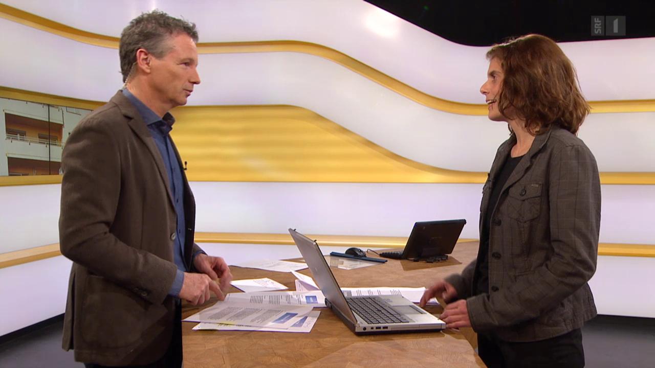Studiogespräch mit Felicitas Huggenberger vom Mieterverband