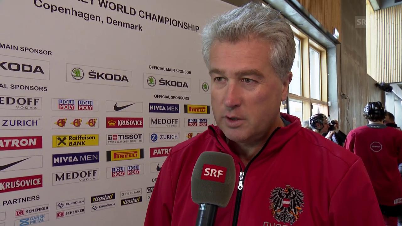 ÖEHV-Coach Bader: «Sind krasser Aussenseiter»