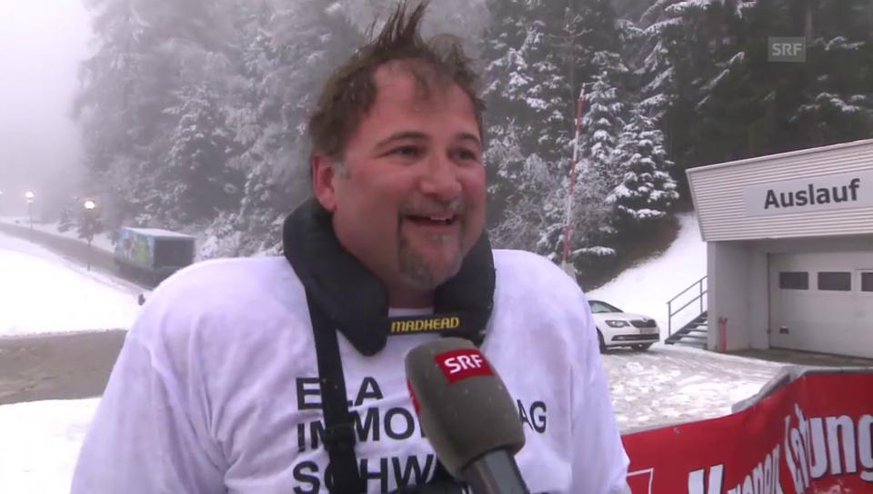 Stefan Roos an der Wok-WM