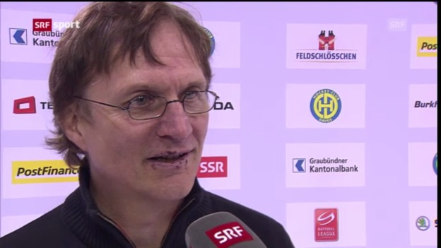 Video «Eishockey: Interview Arno Del Curto» abspielen