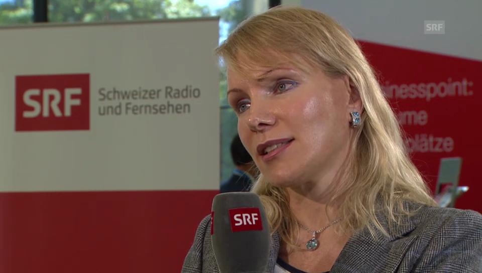 Margarita Louis-Dreyfus im Gespräch mit Reto Lipp