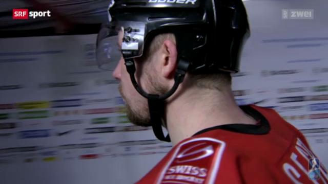 Eishockey: Schweiz - USA