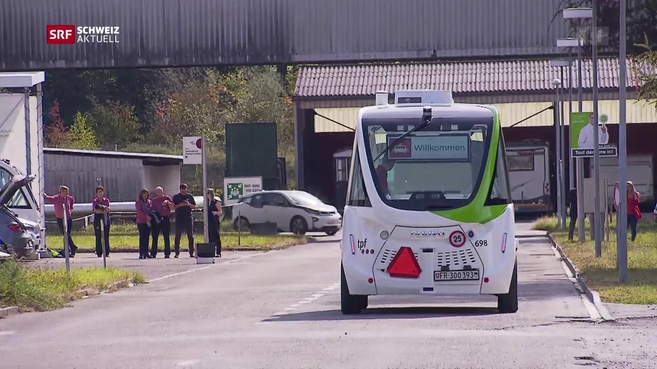 Pendlerbus ohne Chauffeur