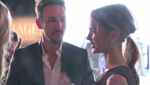 Video «Lauriane Gilliéron und ihr Matthew an einer Party in LA» abspielen