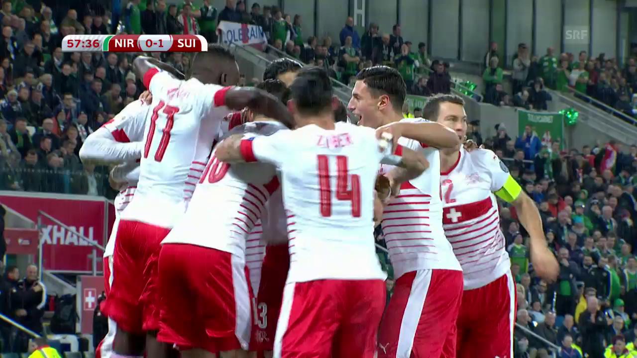 Live-Highlights: Die Schweiz gewinnt in Nordirland