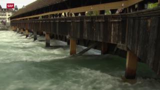 Video «Kritische Hochwasserlage» abspielen
