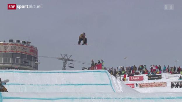 Video «Snowboard: Slopestyle, European Open» abspielen