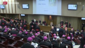 Video «Vatikan zieht Fazit nach Familiensynode» abspielen